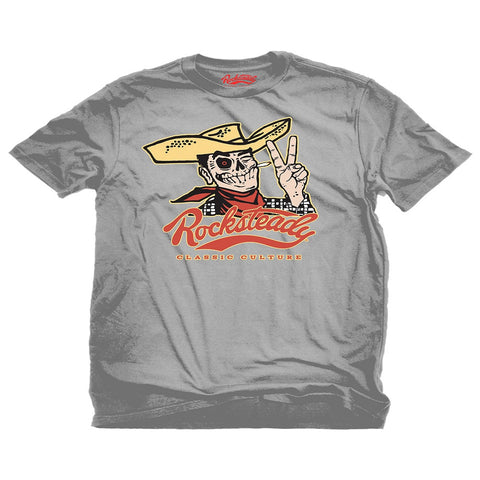 Steady Rocksteady Howdy Silver Men's Tee Shirt RS10305 - Left Coast Threads