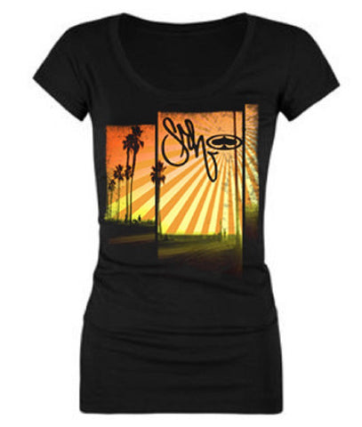 SRH MBCA Womens Tee Shirt SRH279 Black - Left Coast Threads