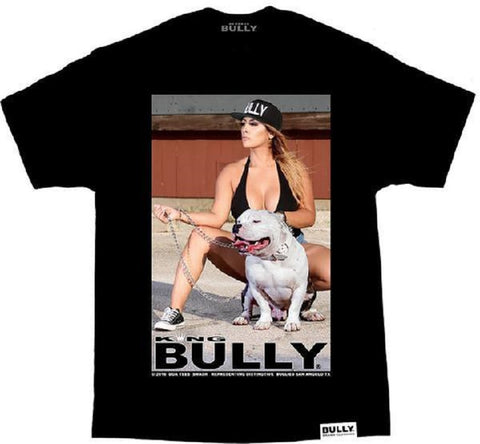 DGA King Bully Smash Mens Black Tee Shirt Pitbull - Left Coast Threads