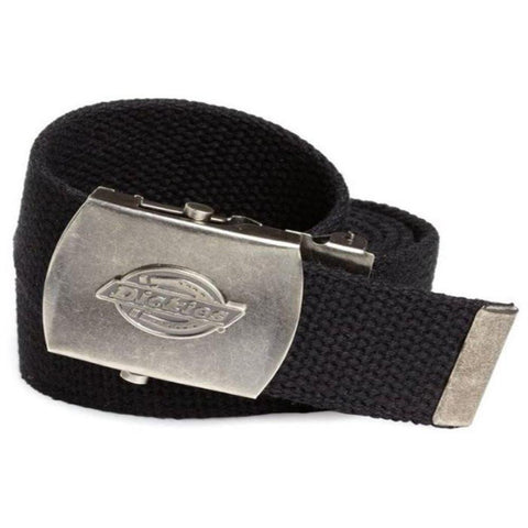 Dickies Tried and True Adjustable Belt 11DI0302 Black - Left Coast Threads