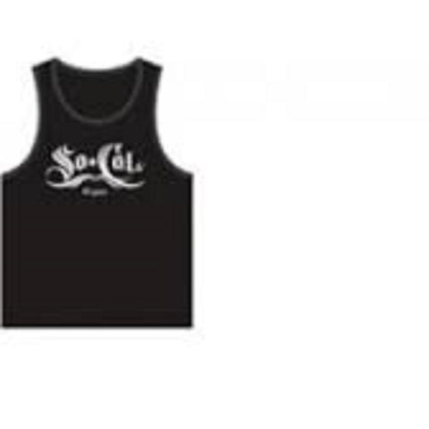 So Cal Men's Original Classy Tank Top TT7516-BK Black