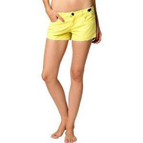 Fox Racing Juniors Syren Board Shorts 04445-268 Day Glo Yellow