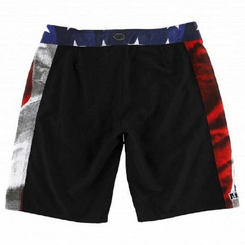Metal Mulisha Men's Freedom Boardshorts Black W/ Red SU7506004 - Left Coast Threads