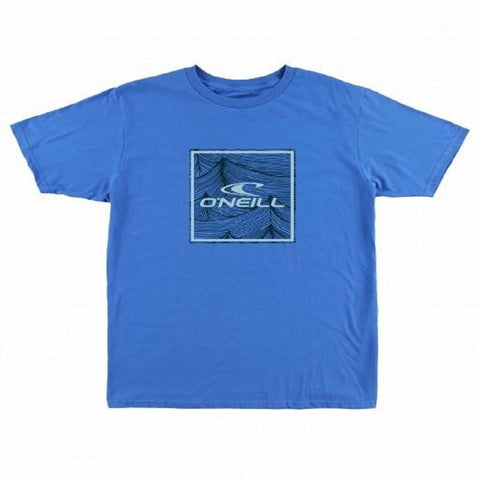 O'Neill Men's Gated Tee Blue FA7118304 - Left Coast Threads