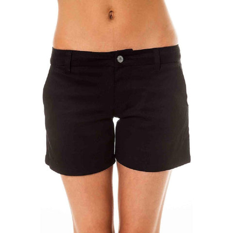 "Dickies Jr's Bull 8"" Black Shorts"