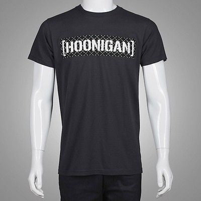 Hoonigan Irons CBAR Tee HM210IRCB-CHR Street racing rally cars drift t-shirt Charcoal