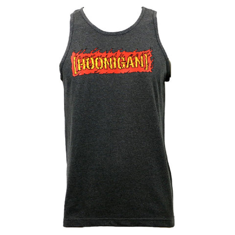 Hoonigan Men's Streets On Fire Tank Heather Charcoal HM230S0FC
