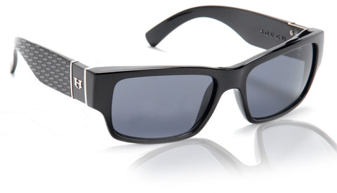 Hoven Knucklehead Black-Carbon Fiber Gloss/Grey Polarized 49-3502 - Left Coast Threads