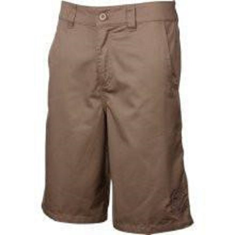 Metal Mulisha Issue V Mens Khaki Shorts 11280 - Left Coast Threads