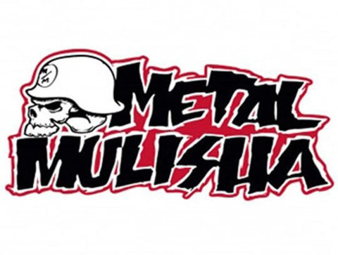 "Metal Mulisha Iconoclast Sticker Red 3"" Decal"