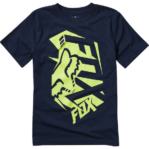 Fox Clothing Youth Salut SS Tee Shirt Indigo 20045-199 - Left Coast Threads