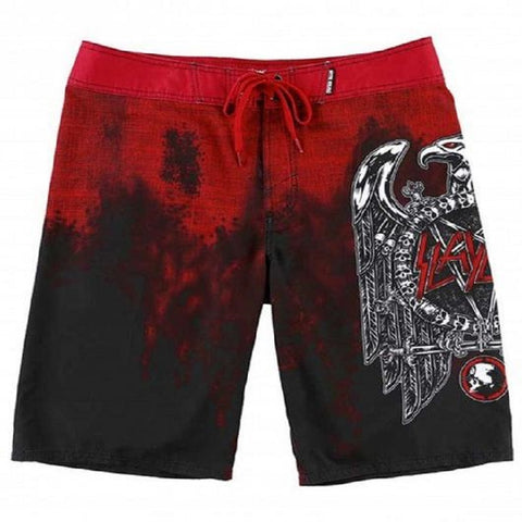 Metal Mulisha Men's Slayer Boardshorts Black SU7506007 - Left Coast Threads