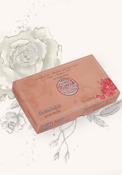 200g Turkish Delight - Rose Flavoured