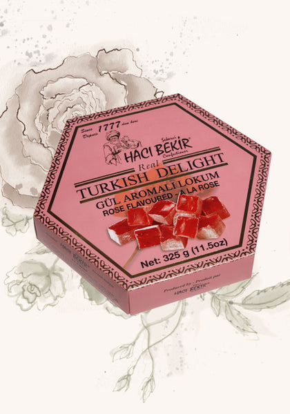 325g Turkish Delight - Rose Flavoured