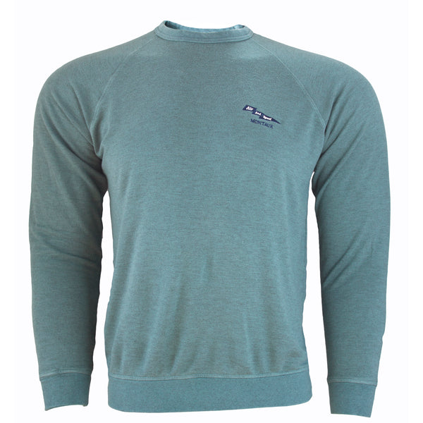 CATALINA CREW NECK - Offshore Green