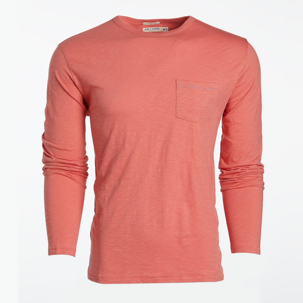 BREEZE LONG SLEEVE T-SHIRT - Rosette