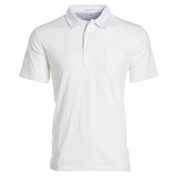 BREEZE POLO - Classic White