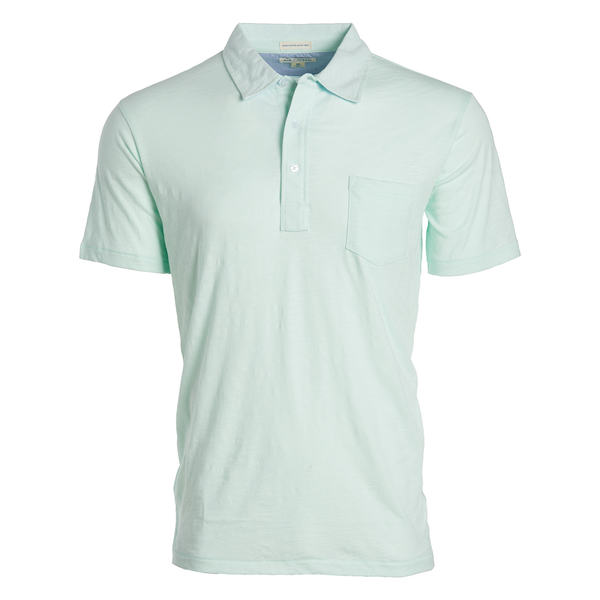 BREEZE POLO - Dusty Aqua