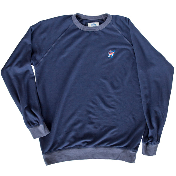MONTAUKETT NATIVE CREW NECK - Beach Navy