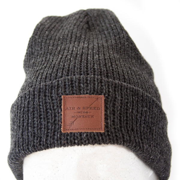 BEACH WALK BEANIE - Charcoal