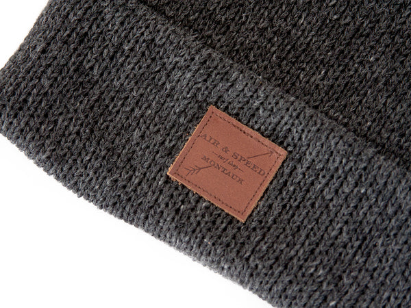 BEACH WALK BEANIE - Black