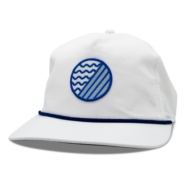 ELEMENT PATCH NYLON SNAPBACK HAT - Club White