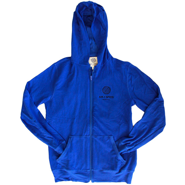 ELEMENTS ATHLETIC FULL ZIP - Pacific Royal
