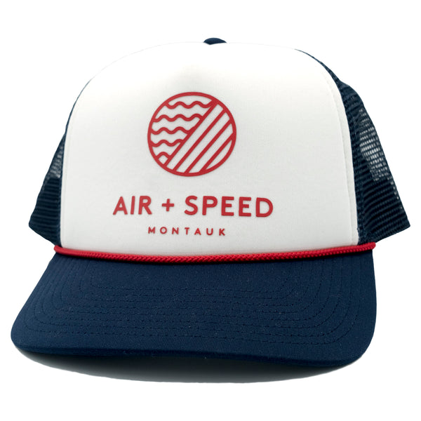 Air And Speed Elements Foam Mesh Trucker Hat