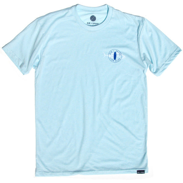 FISH CLUB T-SHIRT - Icicle