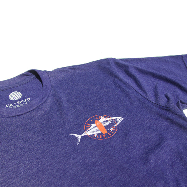 FISH CLUB T-SHIRT - Navy