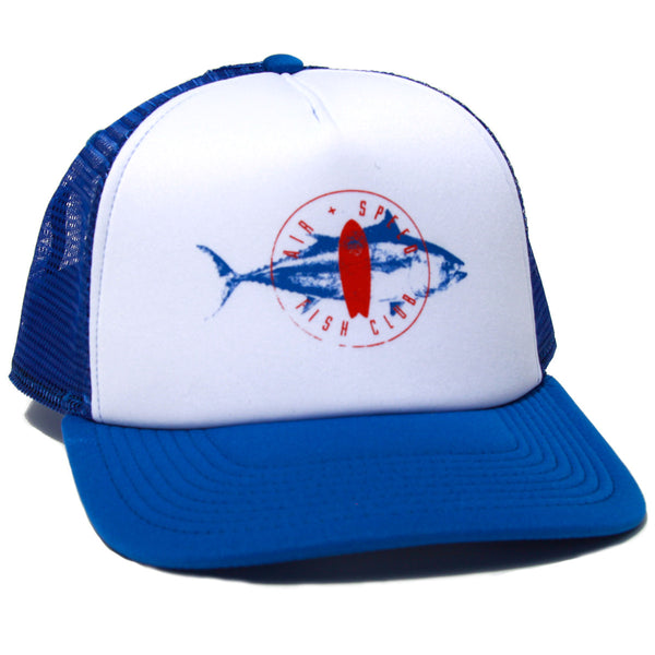 FISH CLUB HAT - Pacific Blue