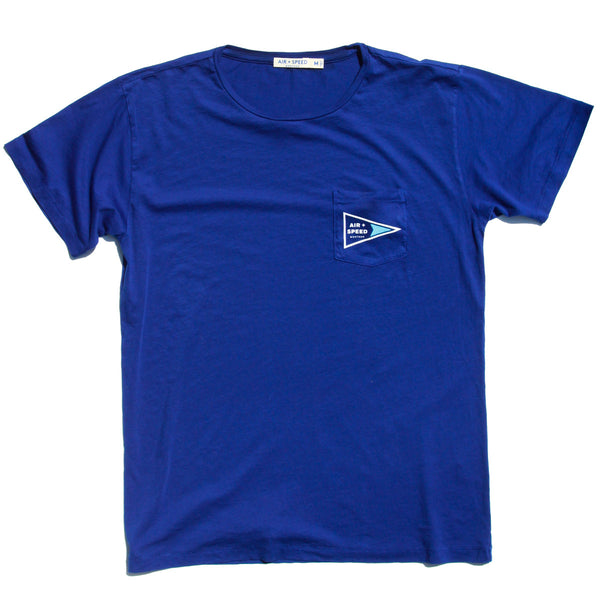 Signal Flag Pocket T-Shirt - Pacific Royal