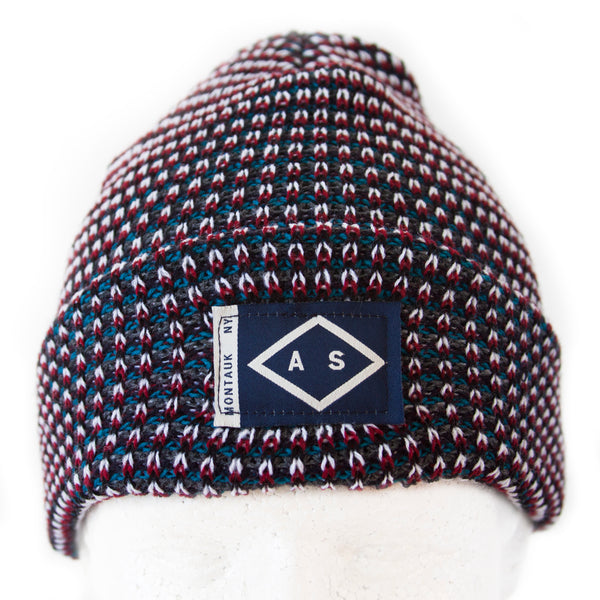HARBOR BEANIE - HOLIDAY TWEED