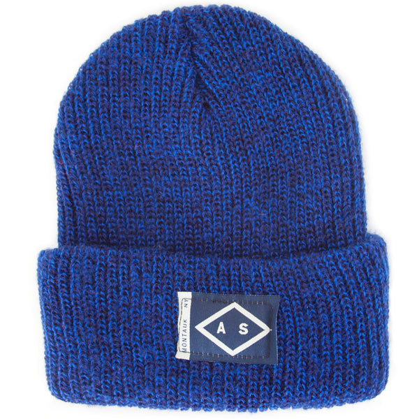 HARBOR BEANIE - Navy and Royal Marl