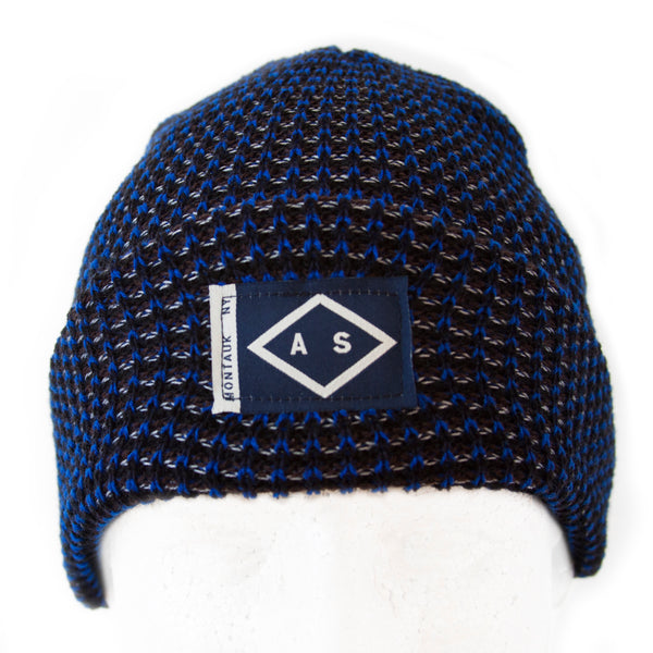 HARBOR BEANIE - WINTER SKY TWEED