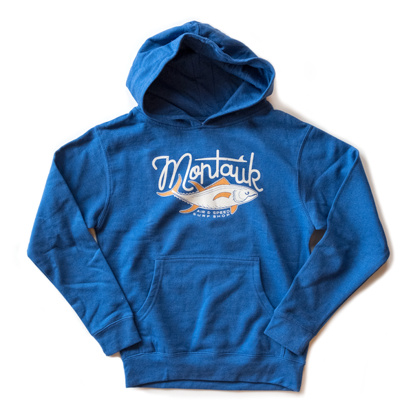 YOUTH MONTAUK TUNA HOODIE - Pacific Blue
