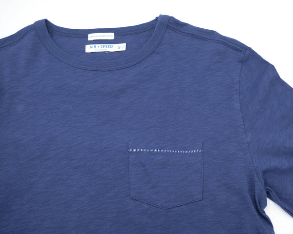 BREEZE LONG SLEEVE T-SHIRT - Beach Navy