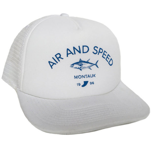 MONTAUK TUNA HAT - White