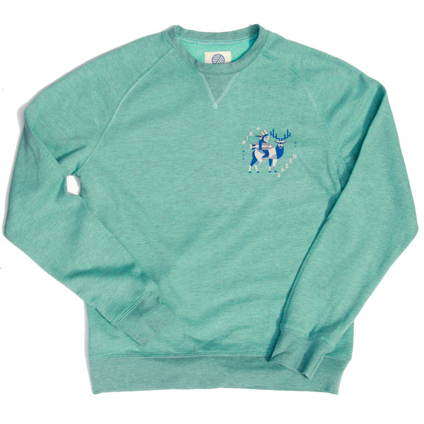MONTAUK NATIVE FLEECE - Island Green
