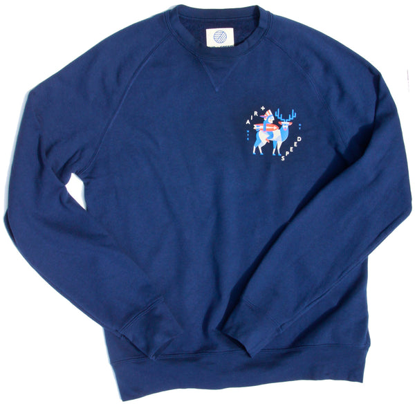 MONTAUK NATIVE FLEECE - Estate Blue
