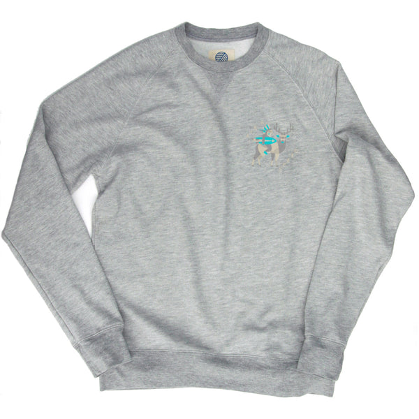 MONTAUK NATIVE FLEECE - Light Grey Heather