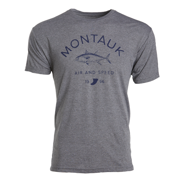 MONTAUK TUNA T-SHIRT - Light Grey Heather