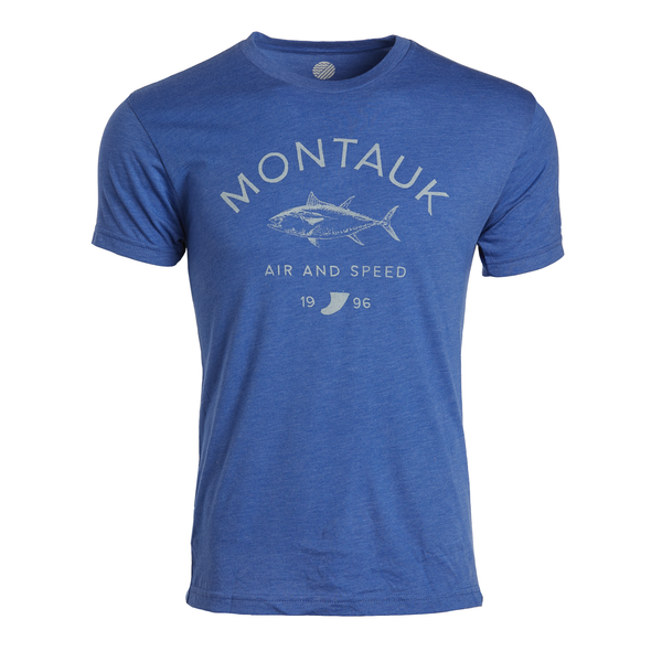 Montauk Tuna T-Shirt - Royal Heather