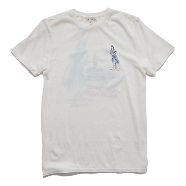 HULA TIME T-SHIRT -  White Sands