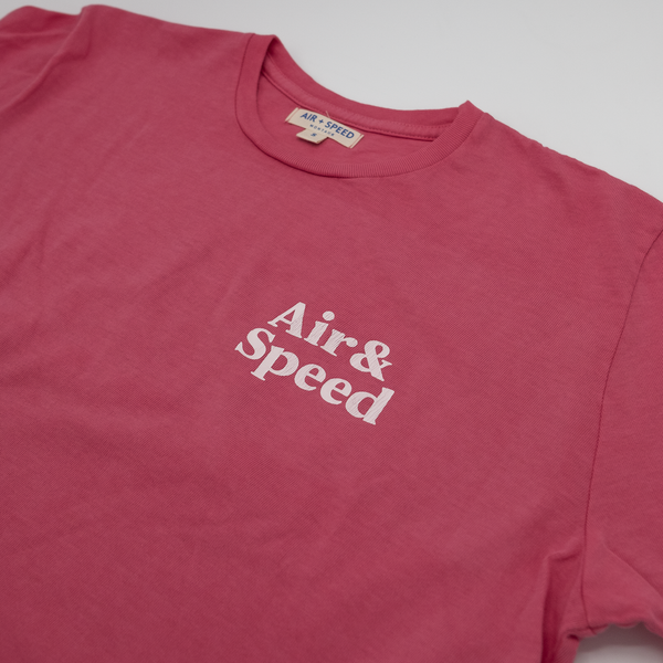 SIMPLE TIMES T-SHIRT - Amalfi Red