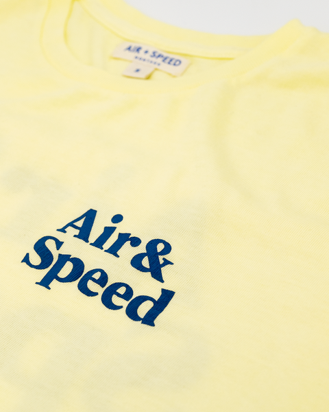 SIMPLE TIMES T-SHIRT - Wax Yellow