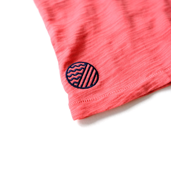 BREEZE CREW NECK  - Amalfi Red