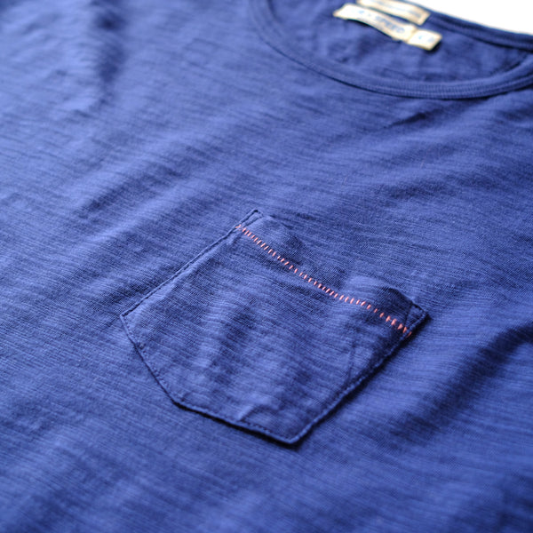 BREEZE CREW NECK  - Estate Blue