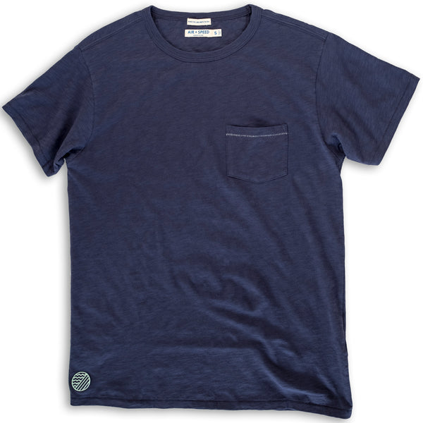 BREEZE CREW NECK  - Beach Navy