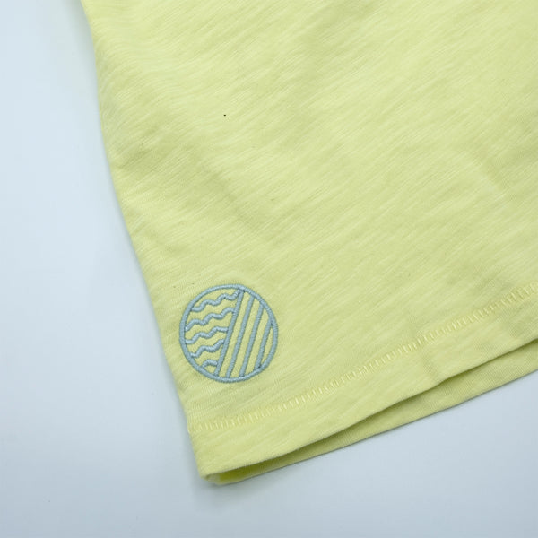 BREEZE CREW NECK  - Wax Yellow
